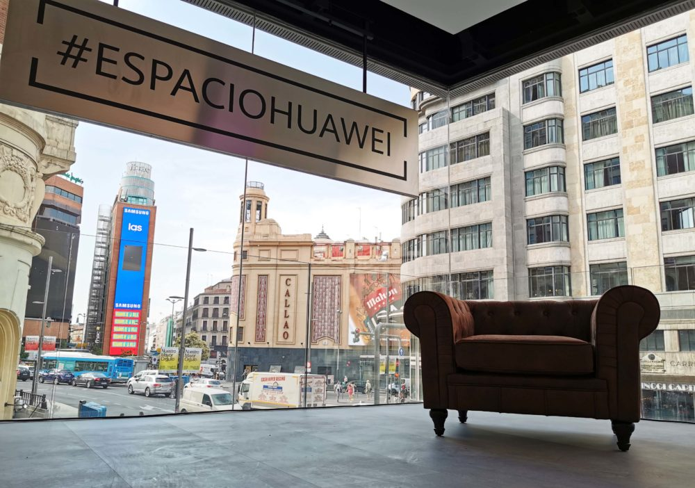 Espacio Huawei tienda flagship