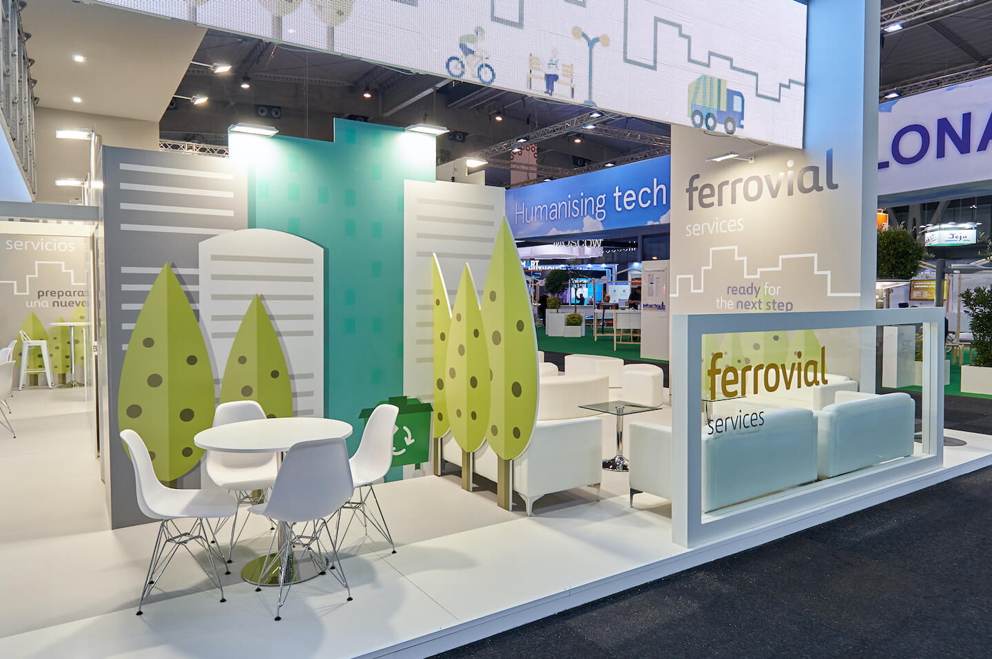 Smart City in Barcelona with Ferrovial