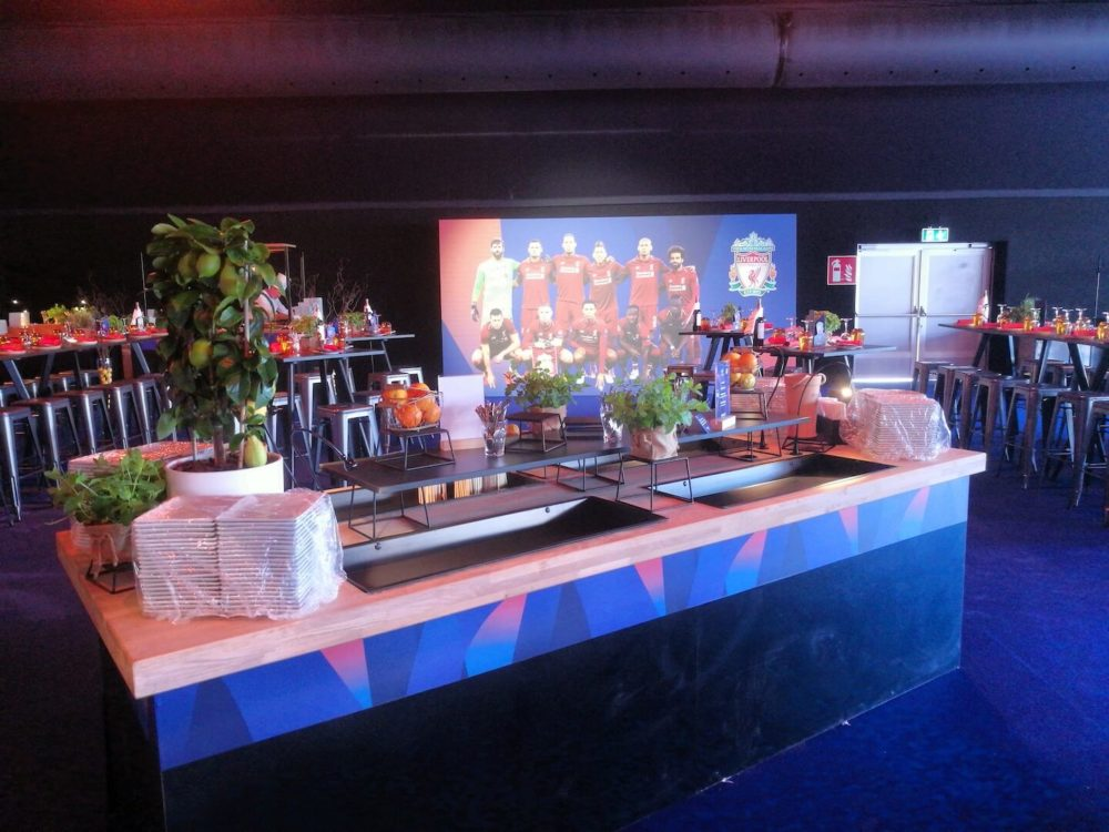 Decoration Hospitality UEFA Champions_League Final Escato Madrid