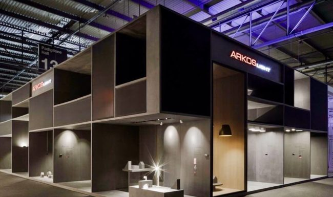 Arkoslight at Salone Mobile Milano, Euroluce