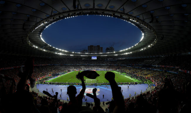 Final de la UEFA Champions League en Kiev